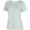 Nike-Pro All Over Mesh T-shirt - Dame-Igloo/White-2006371