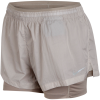 Nike-Run Division Elevate 2-IN-1 Shorts - Dame-Moon Particle/Sepia -2008566