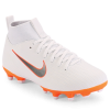 Nike-Mercurial Superfly 6 Academy MG 'Just Do It'-White/Mtlc Cool Grey-2012258