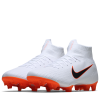 Nike-Mercurial Superfly 6 Pro FG 'Just Do It'-White/Mtlc Cool Grey-2012263