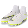 Nike-Hypervenom Phantom 3 Academy DF FG 'Just Do It'-White/Mtlc Cool Grey-2012960