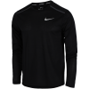 Nike-Breathe Rise 365 T-shirt L/Æ-Black/Black-2033766