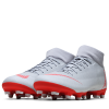 Nike-Mercurial Superfly 6 Academy FG/MG 'Raised On Concrete'-Wolf Grey/Lt Crimson-2039788