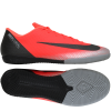 Nike-Mercurial X Vapor 12 Academy CR7 IC 'Chapter 7: Built On Dreams'-Bright Crimson/Black-2063519