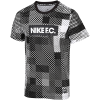 Nike-F.C. Block T-shirt-White/Black-2092286