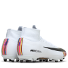 Nike-Mercurial Superfly 6 Pro AG-PRO LVL Up-Pure Platinum/Black--2096725