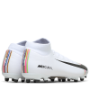 Nike-Mercurial Superfly 6 Academy FG/MG LVL Up-White/Black-pure Pla-2097001