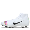 Nike-Mercurial Superfly 6 Club FG/MG LVL Up-White/Black-white-2097398