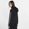 Nike-Studio Full-Zip Training Hoodie-Black/Metallic Silve-2113756