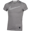 Nike-Pro Compression Top-Carbon Heather/Carbo-2114544
