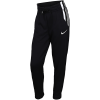 Nike-Fleece Joggingbukser-Black/Metallic Silve-2116957