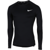 Nike-Pro Compression Top L/Æ-Black/White-2132566