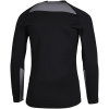 Nike-Pro Warm Compression Top L/Æ-Black/Gunsmoke/White-2132621