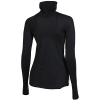 Nike-Pro Compression Warm Top L/Æ-Black/Mtlc Red Bronz-2132698
