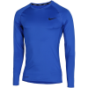 Nike-Pro Compression Top L/Æ-Game Royal/Black-2132836