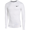Nike-Pro Compression Top L/Æ-White/Black-2132934