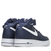 Nike-Air Force 1 MID '07-Midnight Navy/White-2139579