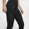 Nike-Pro AeroAdapt Tights-Black/Black/Metallic-2152281