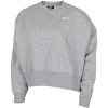 Nike-Essentials Sweatshirt-Dk Grey Heather/Whit-2153465