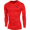 Nike-Pro Compression Top L/Æ-University Red/Black-2154010