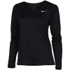 Nike-City Sleek T-shirt L/Æ-Black/Reflective Sil-2155077