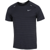 Nike-TechKnit Ultra T-shirt-Black/Dk Smoke Grey/-2155159