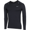Nike-TechKnit Ultra T-shirt L/Æ-Black/Dk Smoke Grey/-2155164