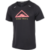 Nike-Rise 365 Trail T-shirt-Black/Laser Crimson-2155289