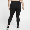 Nike-Epic Lux Tights (Plus Size)-Black/Reflective Sil-2155305
