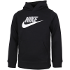 Nike-Club Fleece Hættetrøje-Black/Lt Smoke Grey-2155797