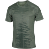 Nike-Dri-FIT Yoga T-shirt-Oil Green/Galactic J-2156490