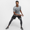 Nike-Pro Breathe T-shirt-Smoke Grey/Smoke Gre-2156495