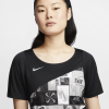 Nike-Icon Clash T-shirt-Black/Reflective Sil-2156604