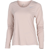 Nike-City Sleek T-shirt L/Æ-Fossil Stone/Reflect-2156608