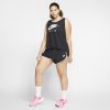 Nike-Air Running Tank Top (Plus Size)-Black/White-2156655