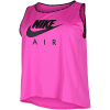 Nike-Air Running Tank Top (Plus Size)-Fire Pink/Black-2156656
