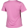 Nike-Pro Mesh T-shirt (Plus Size)-Magic Flamingo/White-2158631