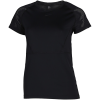 Nike-Pro Mesh T-shirt-Black/Clear-2158656