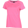 Nike-Pro Mesh T-shirt-Digital Pink/Clear-2158657