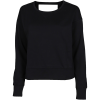Nike-Yoga Wrap Sweatshirt-Black/Dk Smoke Grey-2158663