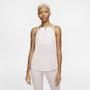 Nike-Yoga Tank Top-Barely Rose/Htr/Plum-2158674