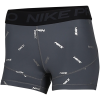 "Nike-Pro 3"" Printed Shorts-Iron Grey/Black-2158678"