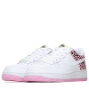 Nike-Air Force 1-White/White-pink Ris-2179736