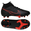 Nike-Mercurial Superfly 7 Academy FG/MG Black X Chile Red-Black/Black-dk Smoke-2180107
