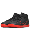 Nike-Mercurial Superfly 7 Academy IC Black X Chile Red-Black/Black-dk Smoke-2180113