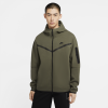 Nike-Tech Fleece Hoodie-Twilight Marsh/Black-2182291