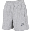 Nike-Fleece Shorts-Dk Grey Heather/Mult-2182533