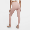 Nike-Yoga Sømløse 7/8 Tights-Rust Pink/Htr/White-2183063