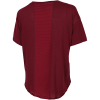 Nike-Pro AeroAdapt T-shirt-Dark Beetroot/Metall-2183210