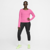 Nike-City Sleek T-shirt L/Æ-Pink Glow/Reflective-2184148